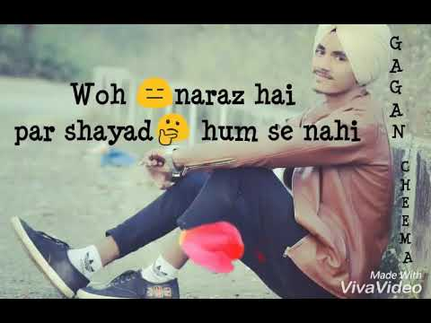 Shayd Hum se Nhi new video by Gagan Cheema