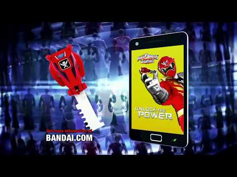 Power Rangers Super Megaforce - Ranger Keys Bandai Commercial (1080p HD)