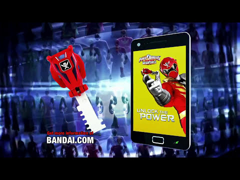 Power Rangers Super Megaforce - Ranger Keys Bandai Commercial (1080p HD)