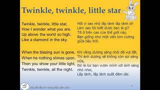 Nhạc thiếu nhi/ Bài hát tiếng anh cho trẻ em/ song for kids/twinkle twinkle little star