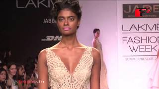 Lisa Haydon | Monica & Karishma | Lakme Fashion Week 2014