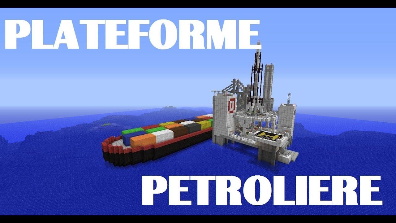 Plateforme p troli re porte conteneur minecraft for Porte conteneur