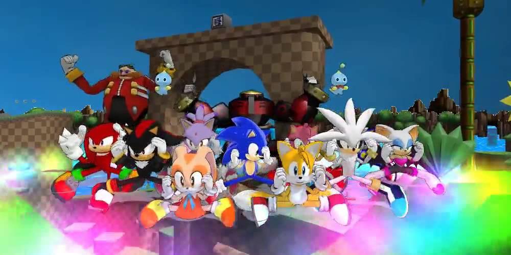 Sonic Cast Gangnam Style Youtube
