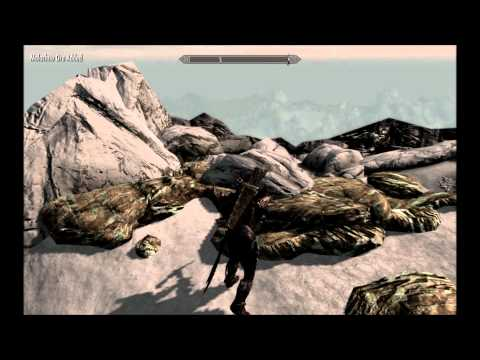 Skyrim - How to find Notched Pickaxe and Ebony Ore Location