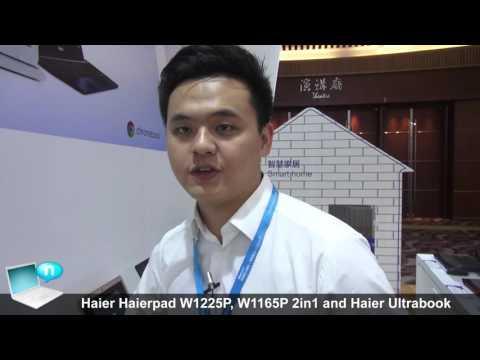 Haier Haierpad W1225P, W1165P 2in1 and Haier Ultrabook