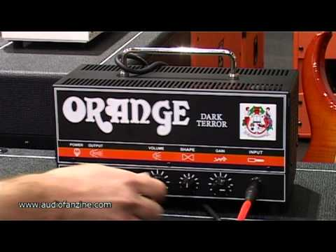 ORANGE DARK TERROR video demo [Musikmesse 2011]