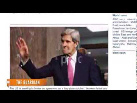 John Kerry Will Resume Israel Palestine Talks Next Week - Politics101