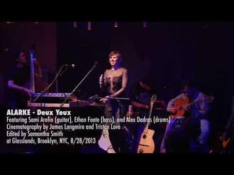 Alarke - Deux Yeux [live at Glasslands]
