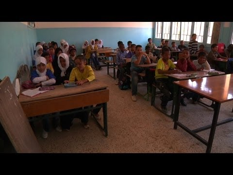 Communities band together to reopen schools damaged in the Libyan conflict