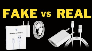 Top 5 tips To Identify Fake VS Genuine Apple Charger for iPhone Counterfeit or Duplicate Chargers