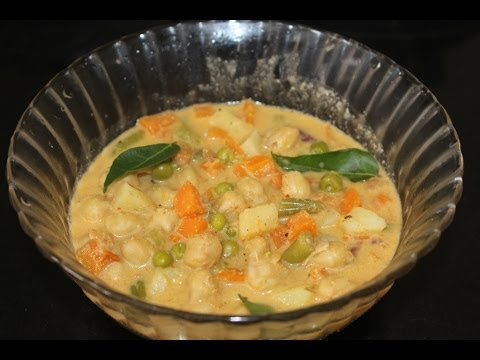 vegetable kurma - idly,dosa,chapati side dish recipes