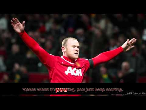 Manchester United Theme Song - Song for the Champions with Karaoke [19th Title - 2011]