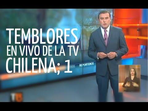 Todos los temblores en VIVO de la tv chilena