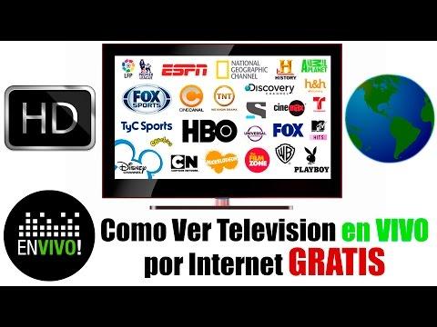Como ver TV en VIVO por Internet GRATIS | Sin Descargar NADA | 2017