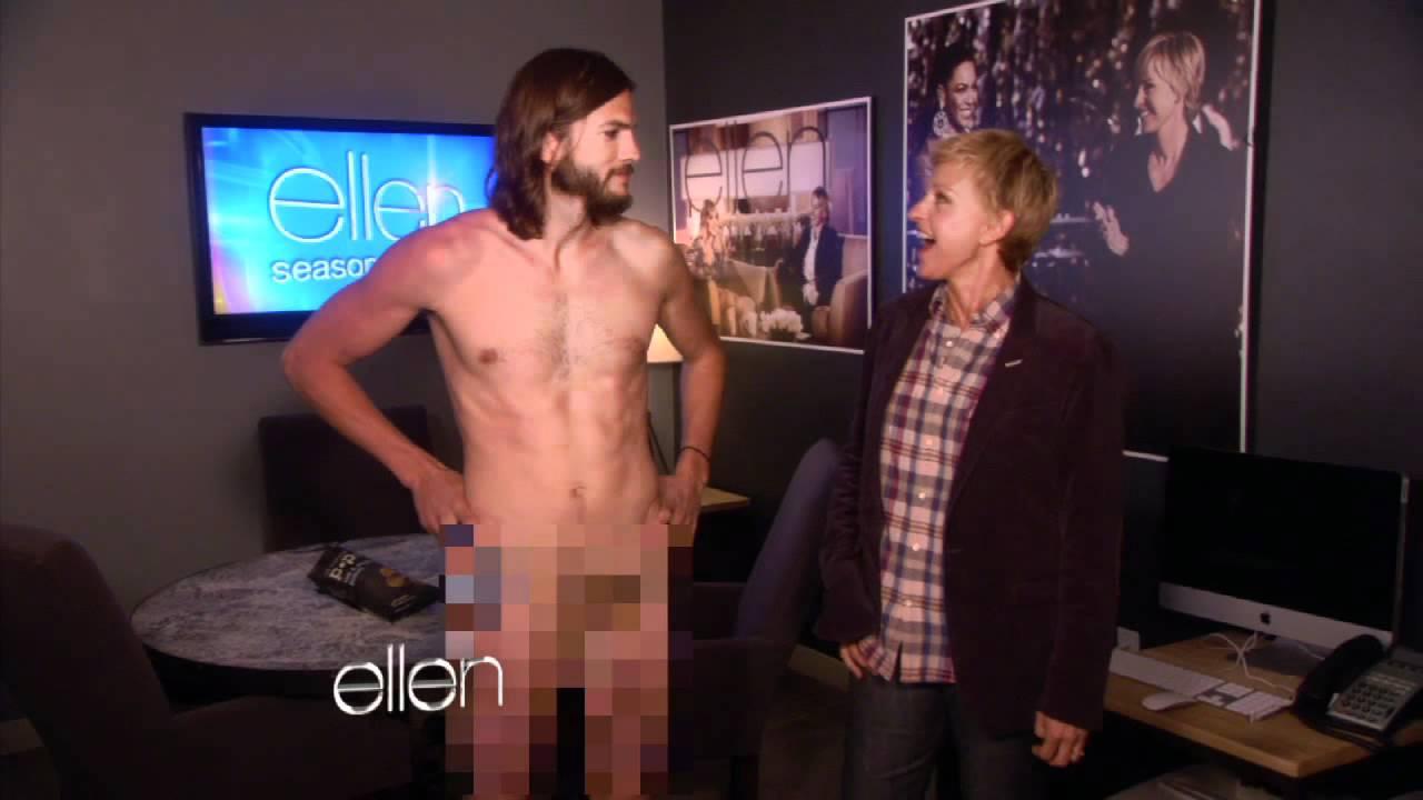 Dick naked ashton kutcher