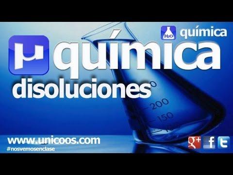 QUIMICA Disoluciones 03 1ºBACHI unicoos normalidad soluto disolucion