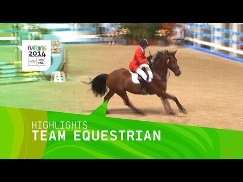Highlights from Day 3 at the Nanjing 2014 Youth Olympic Games involving the International Team Equestrian event. Don't miss a single sport! Find the FULL liv...