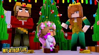 BABY LITTLE KELLYS FIRST EVER CHRISTMAS | Minecraft My Other Life | Little Kelly