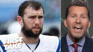 Andrew Luck is overrated and isn't what the Colts expected - Will Cain | First Take