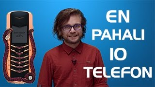 Dünyanın En Pahalı 10 Telefonu