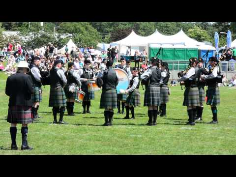 Victoria Highland Games - Crescent Beach Pipe Band