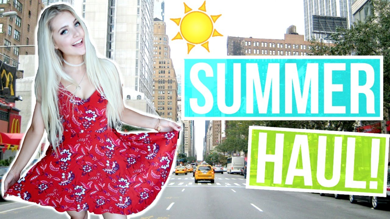 ANOTHER HAUL & SUMMER OUTFIT IDEAS!