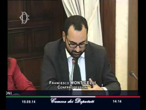Roma - Audizione Confprofessioni e R.ETE Imprese Italia - confprofessioni (18.09.14)