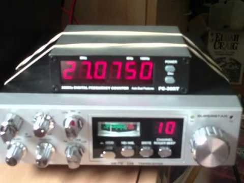 Superstar GR 11 meter DX receive AM/SSB