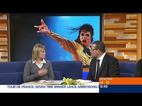 Paul Henry talks to a fan about dancing with Michael Jackson! (8th July 2009)