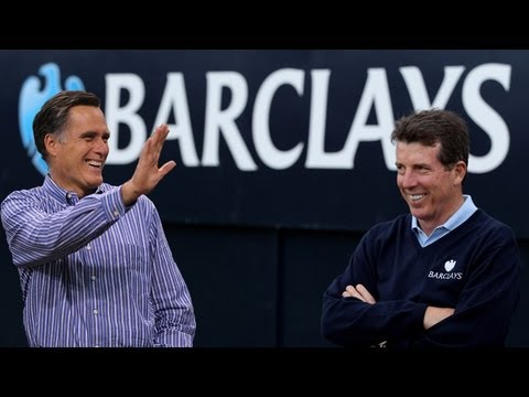 Barclays Executive Bob Diamond Also Resigning From Mitt Romney Fundraiser