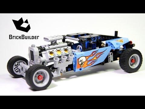Lego Technic 42022 Hot Rod - Lego Speed build