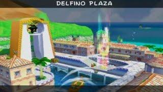 Super Mario Sunshine 100% Walkthrough - Part 17 - All Delfino Plaza Shine Sprites