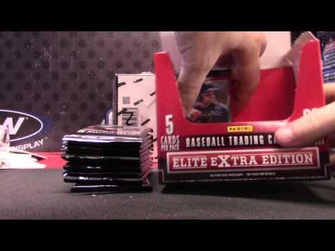 Floyd's 2015 Elite Extra Baseball 4 Box Break