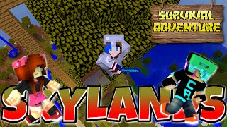 Download Lagu MINECRAFT SURVIVAL ADVENTURE SERIES | SKYLANDS & BABY MULE | CHAD, DOLLASTIC & AUDREY Gratis STAFABAND