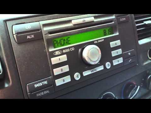 Ford 6000 CD Switching Between Phone and Radio