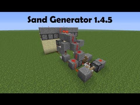 Видео майнкрафт генератор песка гравия - Скачай Миникрафт