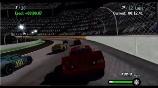 Cars 1 the Videogame - Episode 9 - Lightning Mcqueen VS THE PISTON CUP