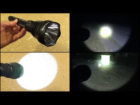 TN15 Flashlight Review (Long Range. Extended Run-Time. 975 Lumens)