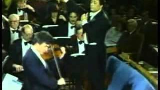 Pinchas Zukerman plays Beethoven Violin Concerto (1st Mov 2nd part)