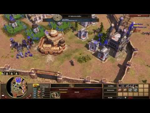 Age of Empires III Multiplayer Gameplay - Indische Elefanten! [Deutsch/HD]