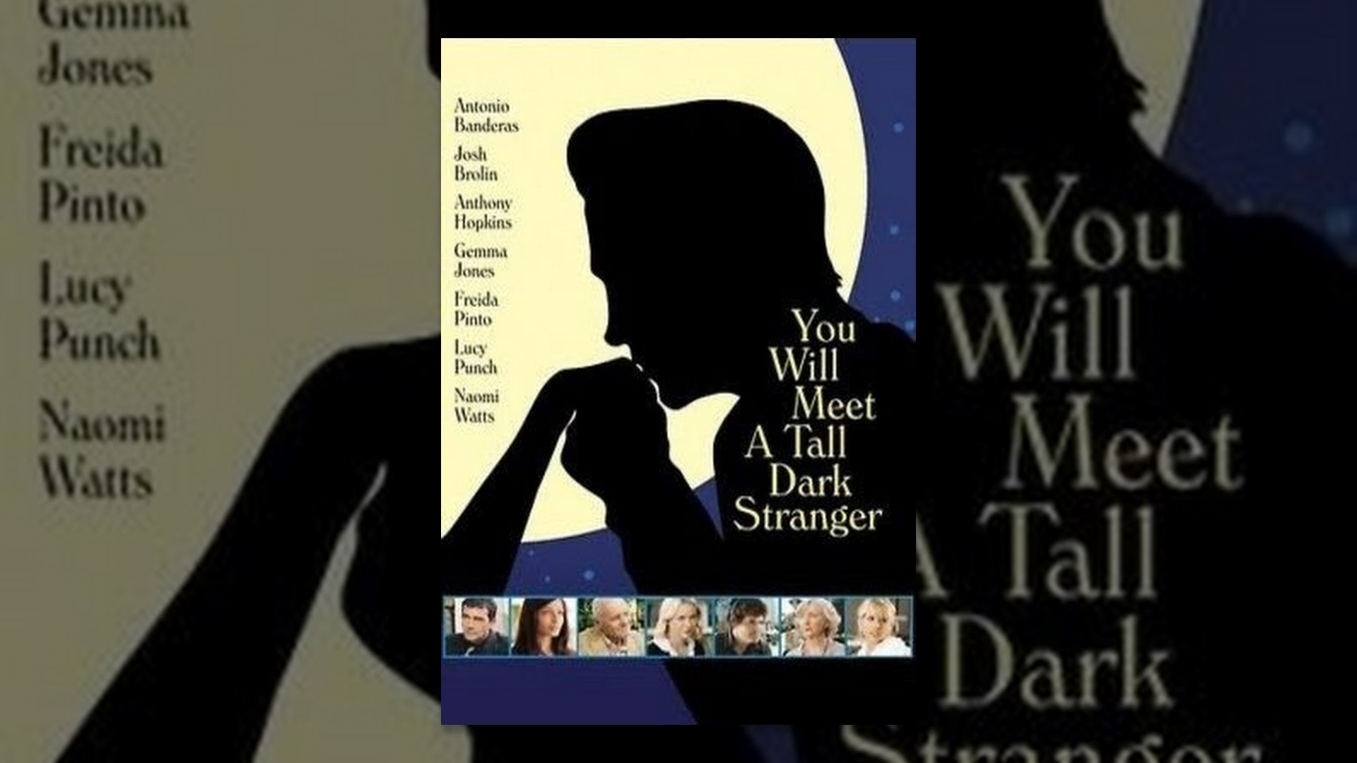 you will meet a tall dark stranger 2010 watch online Woody allen's latest comedy, 'you will meet a tall dark stranger,' hangs on two faltering marriages and the joy of delusion.