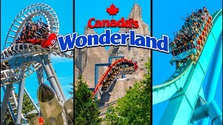 Top 10 Fastest Rides & Roller Coasters at Canada's Wonderland