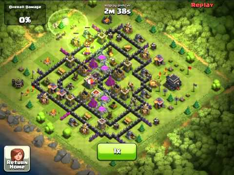 Clash of Clans Town Hall 9 Defense