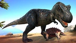 ARK Sa Mạc #5 : Bắt Thành Công Khủng Long Bạo Chúa T-rex !