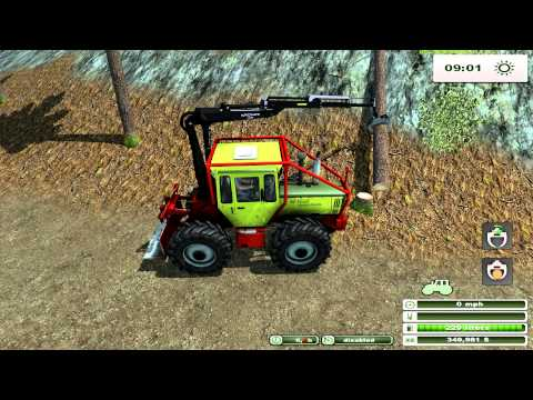 Farming Simulator 2013 Forest Mod and Forest map pt 1