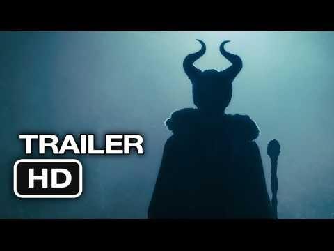 Malefica (Maleficent)-Trailer #1 en Español (2014) Angelina Jolie