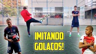 IMITANDO GOLAÇOS!! ( Neymar vs Mbappé ) #1