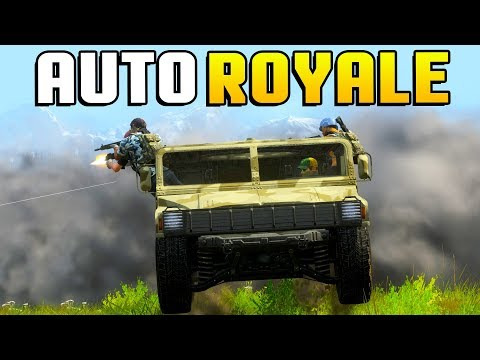 H1Z1 Auto Royale - THIS GAME IS ACTUALLY INTENSE! Vehicular Battle Royale Gameplay