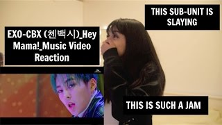 EXO CBX Hey Mama Music Video Reaction IM LIVING FOR THIS SUBUNIT