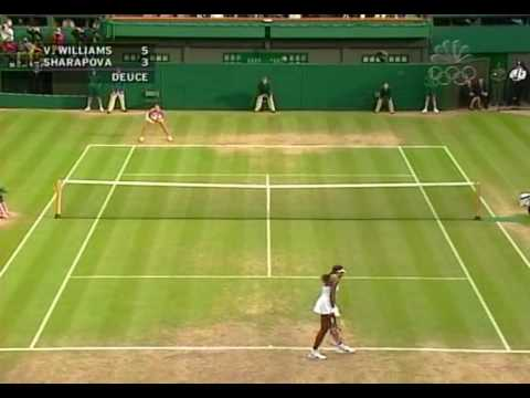 Venus Williams Vs. Maria Sharapova Loudest Points